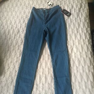 New with tags high rise stretch jeans